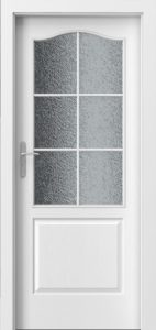 białe drzwi Porta LONDYN